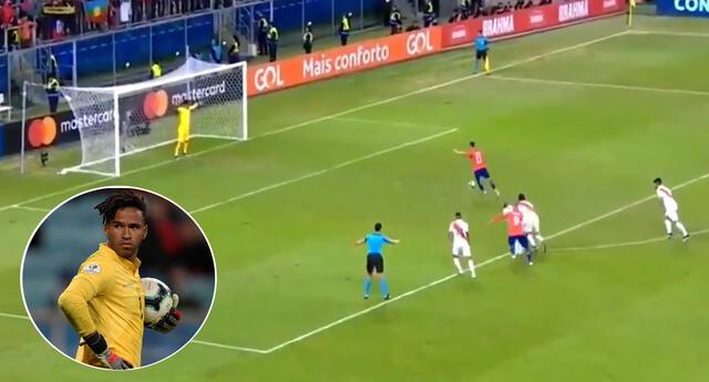 Pedro Gallese fue una de las figuras de aquella memorable noche en el que la selección peruana superó a Chile.