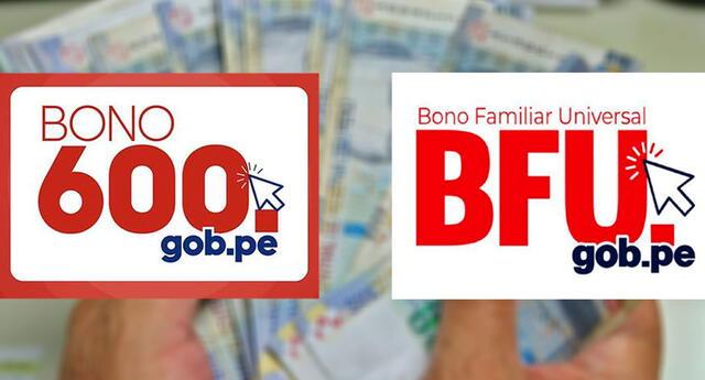 El bono familiar universal 760 todavía se está pagando y el bono 600 recién ha comenzado a entregarse