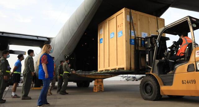 Nueva planta de oxígeno enviada a Loreto será instalada en el Hospital III Iquitos.