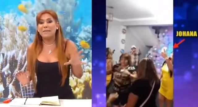 Magaly Medina llama a la Policía para que intervenga fiesta de Toño Centella.