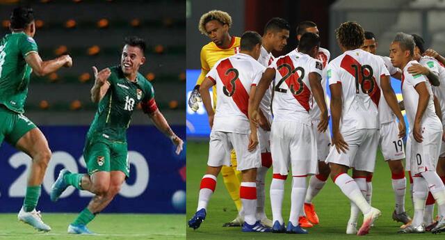 Perú y Bolivia se enfrentan por la fecha 5 de las Eliminatorias Qatar 2022.