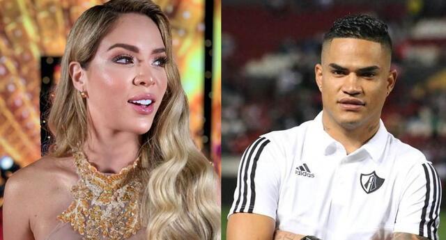 Sheyla Rojas contó todo sobre su relación con el futbolista Anderson Santamaría.