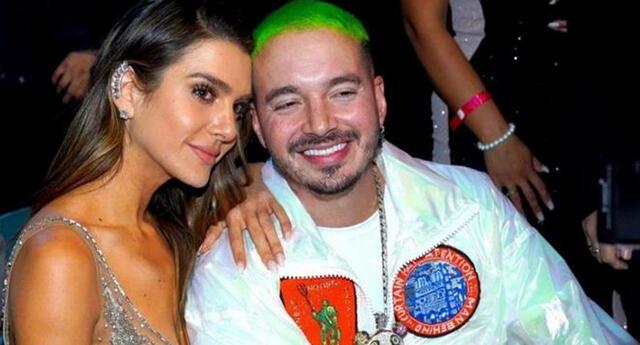 El cantante J Balvin y la modelo Valentina Ferrer esperan su primer hijo.