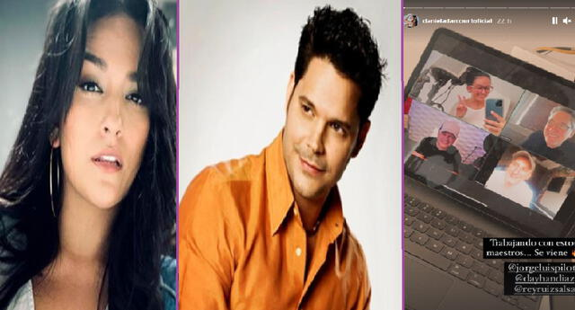Daniela Darcourt revela que está trabajando con Rey Ruiz y otros famosos salseros.
