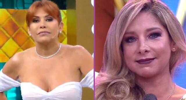 Magaly Medina cuestiona que Sofía Franco haya podido salir a la calle antes de cumplirse su sexto día de cuarentena obligatoria.