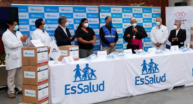 Los 600 respiradores donados ahora a EsSalud serán distribuidos a hospitales del Seguro Social en Lima, Callao, Piura, La Libertad, Arequipa, San Martín, Áncash e Ica.