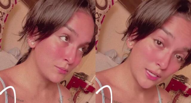 Daniela Darcourt preocupada por dolor en la espalda