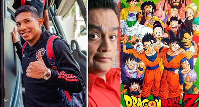 Edison Flores es fanático de Jorge Benavides y Dragon Ball Z.