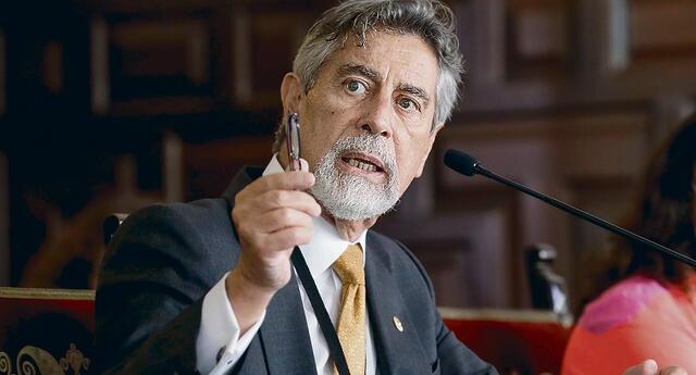 Francisco Sagasti dice que cerrará la brecha del oxígeno medicinal poco a poco.