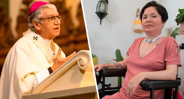 Monseñor Carlos Castillo Mattasoglio expresó su deseo de poder entablar una conversación con Estrada, ya que considera la decisión de la activista como algo a causa de la soledad.