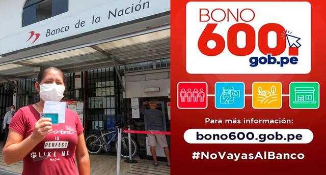 Cómo cobrar el Bono 600 sin ir al banco de la Nación