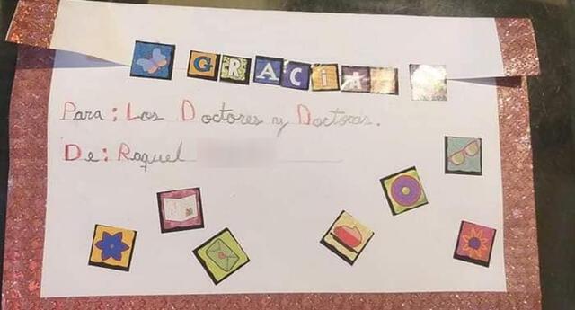 Conmovedora carta de la niña se viralizó en las redes sociales.