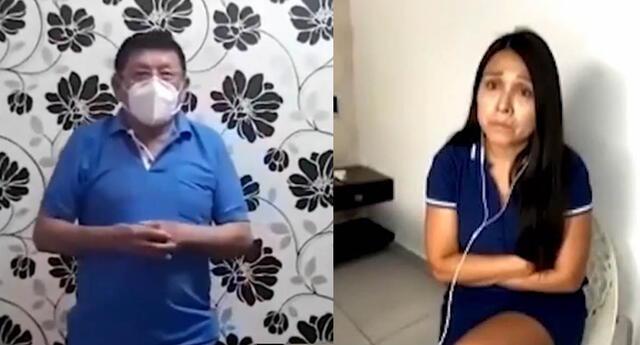 Tula Rodríguez reciben emotivo mensaje de su papá desde su aislamiento.