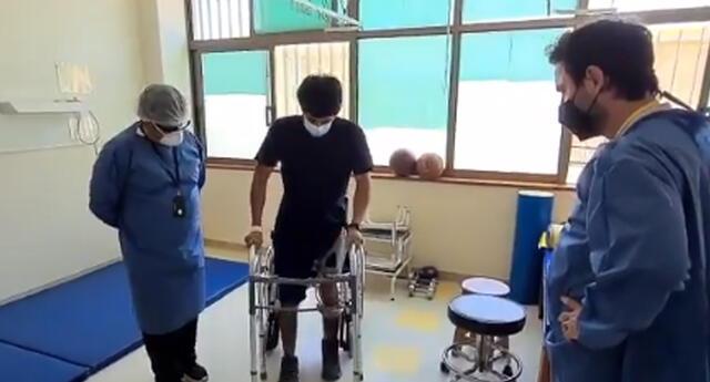 Jon Abel Cordero Morales volvió a caminar pese a que médicos habían diagnosticado todo lo contrario.