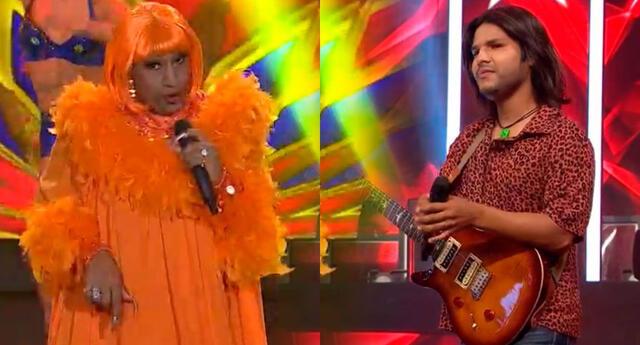 """Junior Rosillo, imitador del rockero peruano, defendió con gran talento su silla de consagrado interpretando """"Vibraciones positivas"""""""