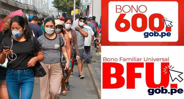 ¿Si ya cobré el BFU podré ser beneficiario del bono 600?