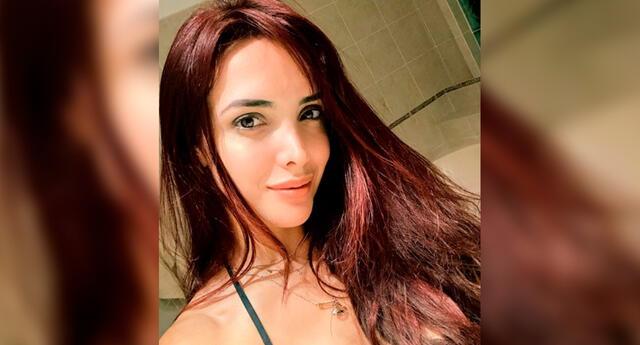 La modelo Rosángela Espinoza señaló que solo piensa en cosas positivas.