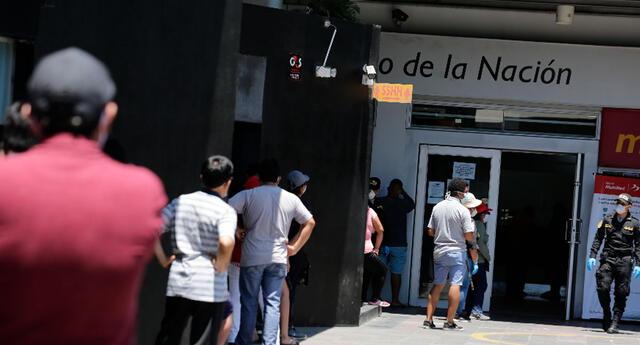 Cobra hoy en el Banco de la Nación el bono familiar universal de 760 soles que paga el Midis a hogares vulnerables del Perú.