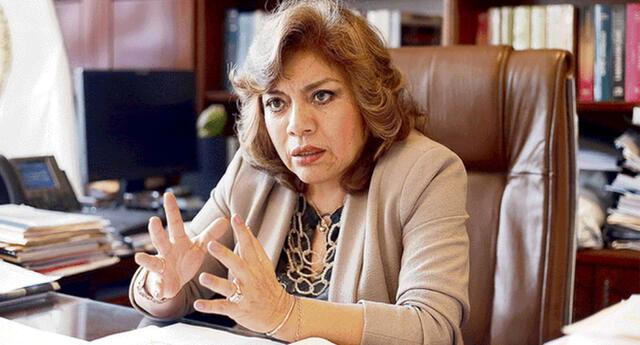 Zoraida Ávalos se pronuncia por la moción en su contra del Congreso
