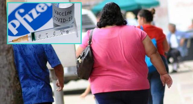 Pfizer podría no ser eficaz en obesos.