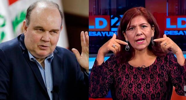 candidata a la vicepresidente López Aliaga