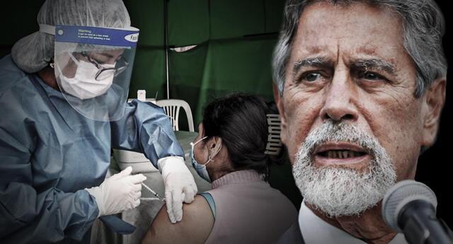 Francisco Sagasti anunció que llegará un nuevo lote de vacunas de Pfizer.
