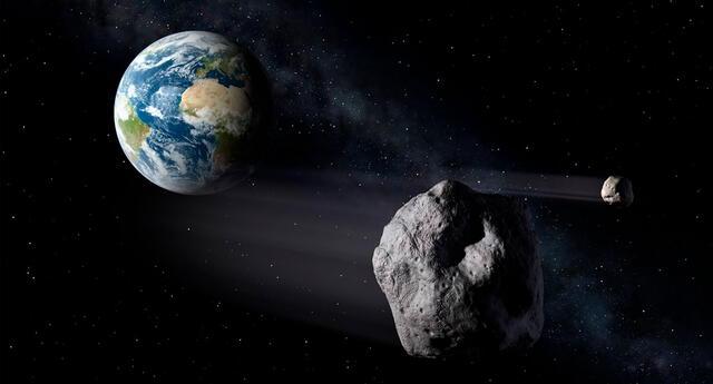 El paso de este asteroide no representa ningún peligro para la Tierra.