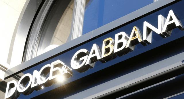 Marca italiana Dolce & Gabbana