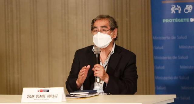 Óscar Ugarte confirmó que las vacunas contra la COVID-19 ingresadas al país tienen efectividad comprobada.