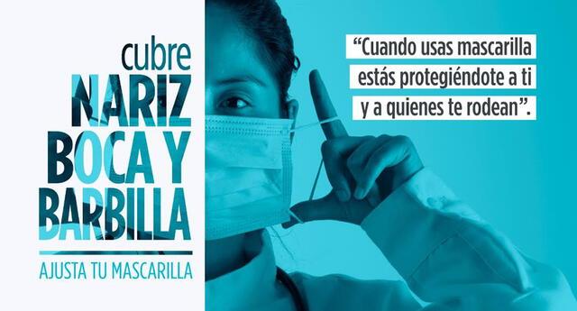 El uso de la mascarilla es vital en tiempos de pandemia. Foto: PCM