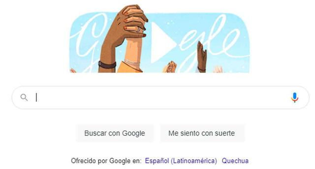 Día de la Mujer: Google celebra así el 8 de marzo.
