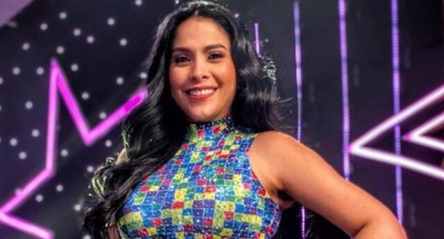 La cantante Maricarmen Marín celebró los 9 años que Yo Soy lleva al aire y felicitó al más reciente ganador, el imitador de Marilyn Manson.