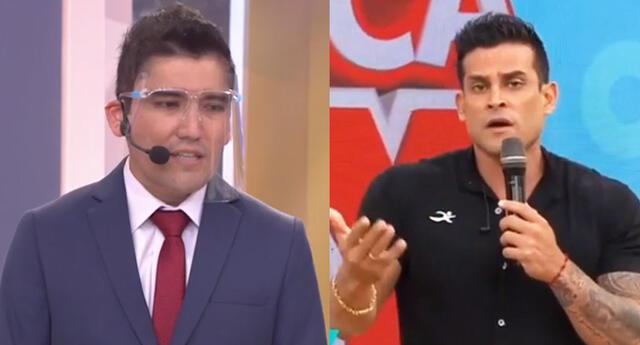 Angelo Fukuy descarta tener problemas con Christian Domínguez.