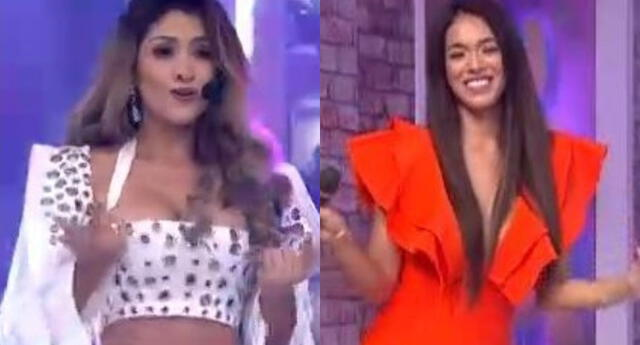 La popular 'Michi' no dudó en agradecerle a la 'Chinita' por el apoyo a la canción