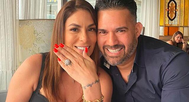 Evelyn Vela espera poder hacer una fiesta para su boda religiosa con Valery Burga.