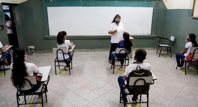 Conoce cómo será el retorno a clases presenciales en colegios públicos