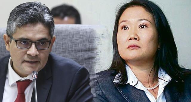 Piden prisión para Keiko Fujimori.