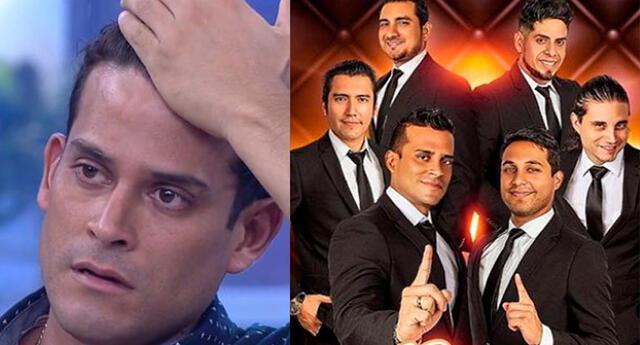 Christian Domínguez resentido por las declaraciones de excompañeros de 'Gran Orquesta Internacional'