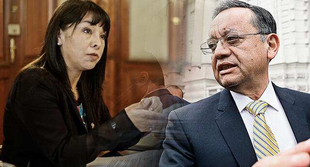 Mirtha Vásquez mencionó que en caso se determine que la información presentada por Edgar Alarcon sea falsa, el Congreso tomará 'algunas acciones' debido a que ello constituiría ilícitos penales.