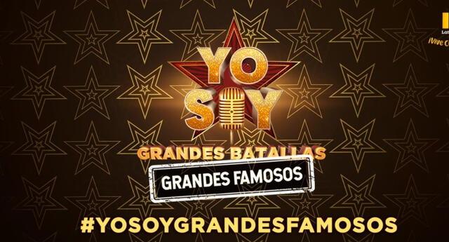 Yo soy: Grandes batallas, inicia este 13 de marzo en la sençñal de Latina Televisión.