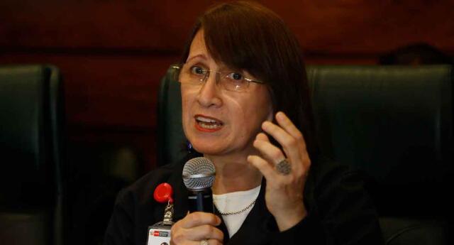 Pilar Mazzetti, exministra de Salud