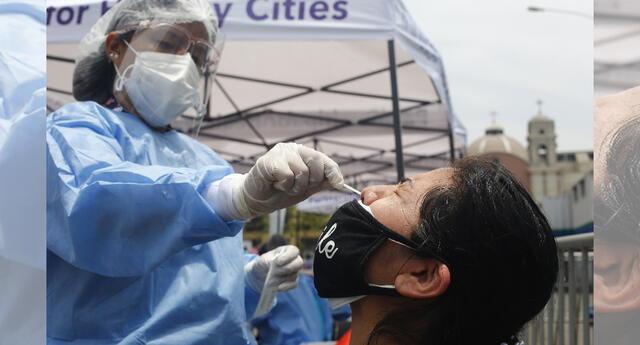 Desciendo el número de contagios en regiones del Perú.
