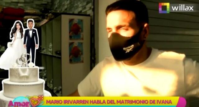 Mario Irivarren revela que Ivana Yturbe siempre quiso casarse joven y tener hijos.