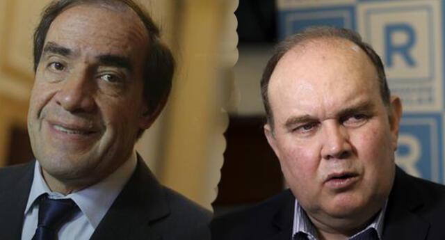 Yonhy Lescano y López Aliaga cuentan con el apoyo de la población para ser presidentes.