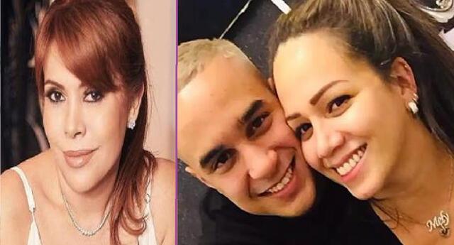 Magaly Medina cuestionó que Melissa Klug y Jesús Barco hagan reunión en pandemia.
