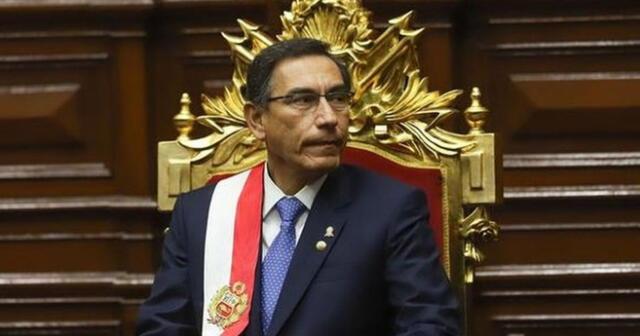 Martín Vizcarra estaría vinculado con actos de corrupción con la empresa OAS