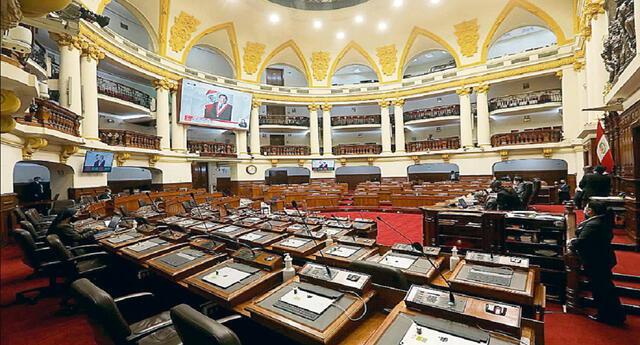 Acción Popular y Somos Perú lideran intención de voto al Congreso de la República