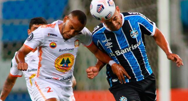 Ayaucho FC deberá ganar 5 a 0 al Gremio si quiere clasificar a la siguiende ronda.