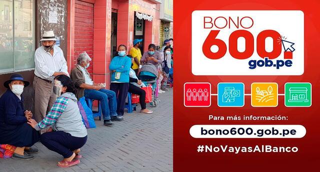 Conozca la lista de beneficiarios que cobrarán desde hoy 15 el bono 600