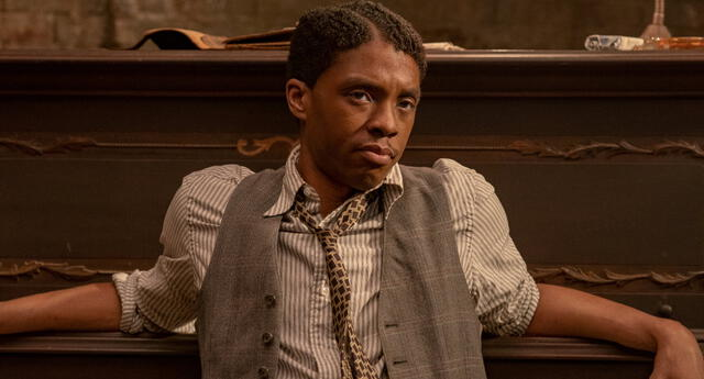 "El actor Chadwick Boseman, que falleció en 2020, fue nominado a Mejor actor en los Academy Awards por su rol en ""Ma Rainey's Black Bottom""."